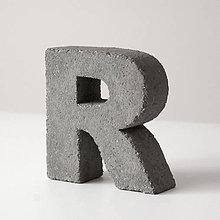 """Dekorácie - Držiak kníh z betónu """"R"""" - 7786689_"""