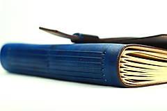 Papiernictvo - Kožený zápisník RAYAL  - 7787519_