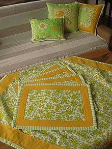 Úžitkový textil - jarné prestieranie 5 - 7784799_