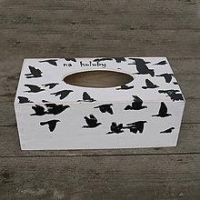Krabičky - Krabička na papírové kapesníky - 7787861_