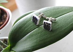 Šperky - manžetové Platinové - 7785941_