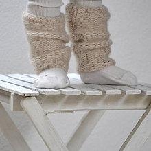 Topánočky - Mininávleky...svetlobéžové - 7785752_