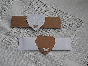 Darčeky pre svadobčanov - Žuvačky a aj menovky - 7785823_
