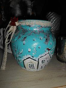Svietidlá a sviečky - Zimička - 7783944_