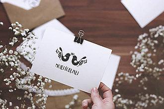 Papiernictvo - Ľúbezné kartičky - 7787134_