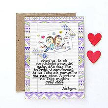 Grafika - Na kávičke (valentínka s textom)  (23) - 7786726_