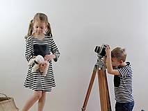 Detské oblečenie - Detské tabuľové šaty  MD1 - 7790793_