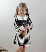 Detské oblečenie - Detské tabuľové šaty  MD1 - 7790919_