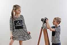 Detské oblečenie - Detské tabuľové šaty  MD1 - 7790965_