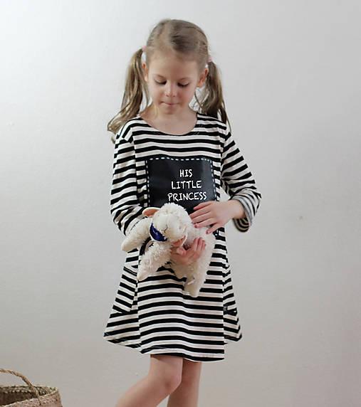 Detské tabuľové šaty  MD1