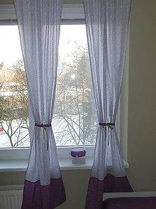 Úžitkový textil - Závesy Lilla 70x200/2ks - 7792153_