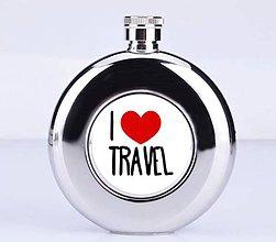 Iné - Ploskačka-I LOVE TRAVEL - 7788634_