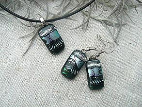 Sady šperkov - Silver-green - 7790280_
