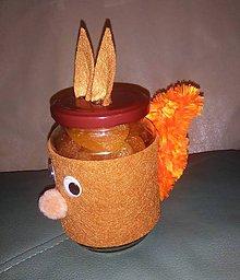 Nádoby - recyklujem - nádoba - veverička - 7792293_