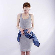 Šaty - Šaty šedé - 7791444_