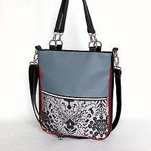 Veľké tašky - Basic Zipp - Fauna and flora - 7790805_