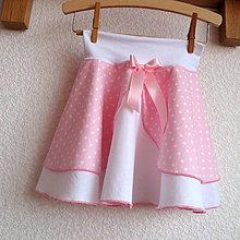 Detské oblečenie - Sukýnka puntíček II. - 7790842_