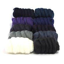 Textil - Merino 23mic mix Nočná obloha - 7788845_