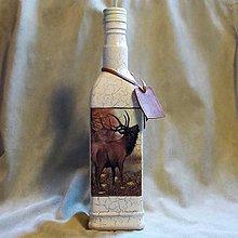 Nádoby - Poľovnícka fľaša Lovecká sezóna II - 7792581_