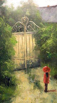 Obrazy - Staré záhrady - 7792032_