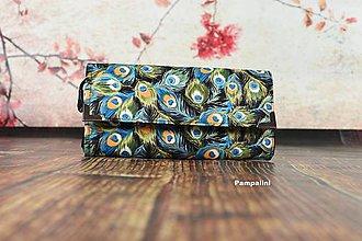 Peňaženky - Paví oko - 7788741_
