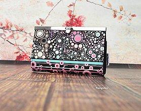 Peňaženky - Růžové bublinky - 7790294_