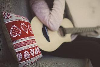 Úžitkový textil - Vianočný vankúšik - 7790152_