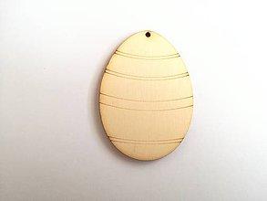 Polotovary - Drevený výrez vajíčko - 7790868_