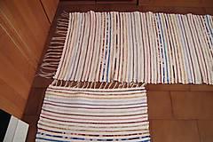 Úžitkový textil - Tkaný koberec   - 7792845_
