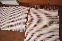 Úžitkový textil - Tkaný koberec   - 7792846_