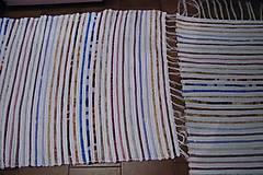 Úžitkový textil - Tkaný koberec   - 7792851_