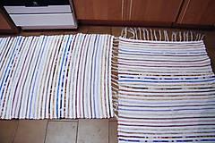 Úžitkový textil - Tkaný koberec   - 7792855_