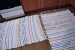Úžitkový textil - Tkaný koberec   - 7792862_