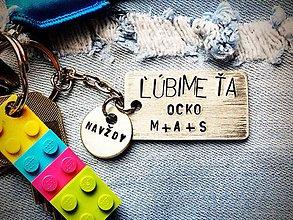 Kľúčenky - ĽÚBIME ŤA ...navždy...Ocko - 7796152_