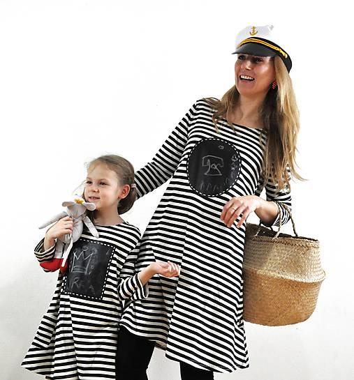 195ceea8d4 Dámske tabuľové šaty - aká matka taká Katka MD1   DesignLCH - SAShE ...