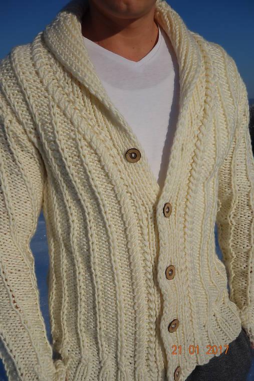 64de7520de1c Pánsky ručne pletený elegantný sveter   ewec - SAShE.sk - Handmade ...