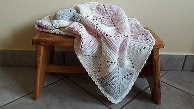 Textil - Detská deka Marshmallow - 7793657_