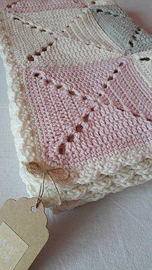 Textil - Detská deka Marshmallow - 7793659_