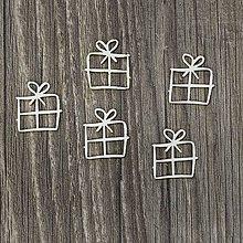Polotovary - Lepenkový výrez - darčeky - 7796606_