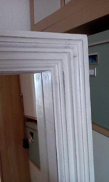Zrkadlá - Zrkadlo v drevenom ráme - 7793155_