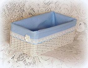 Košíky - Modé z neba 2 - 7794493_