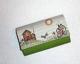 Peňaženky - Peňaženka - Na vidieku - 17 - 7796136_