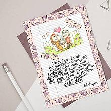Grafika - Na kávičke (valentínka s textom)  (20) - 7793704_