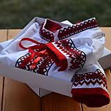 Oblečenie - Červeno-čierna - 7800518_