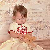 Detské oblečenie - Modré s vtáčikom. - 7800592_