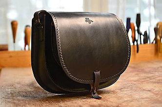 Kabelky - Lovecká kabelks/saddle bag ARTEMIS čierna - 7797502_