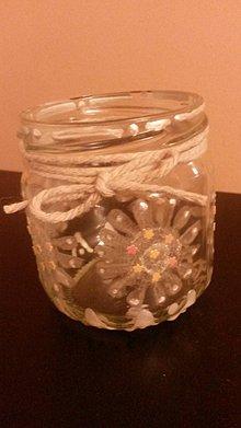Svietidlá a sviečky - Mini svietnik - 7801808_
