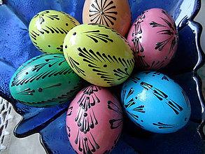 Dekorácie - pastelové vajíčka - 7798379_