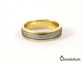 Prstene - Prsten Héra se zlatem - 7801328_