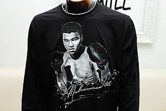 Tričká - Maľované tričko Muhammad Ali - 7801353_